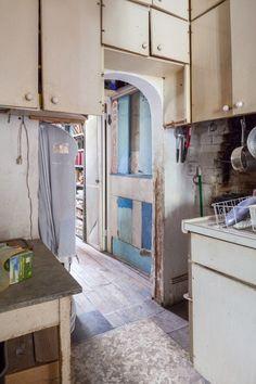 Louise Bourgeois' apartment shot by Nicholas Calcott