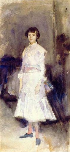 John Singer Sargent (American expatriate artist, 1856-1925) Violet Sargent (1870-1955) 1883
