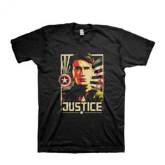 Justice Marvel Rogers Cotton T-Shirt Apparel | IdolStore