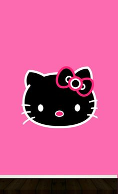 Wild hello kitty wall! Enjoy
