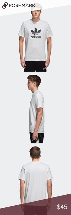 Adidas Trefoil Graphic Logo Tee Adidas Trefoil Graphic Logo Tee Mens Size Large adidas Shirts Tees - Short Sleeve