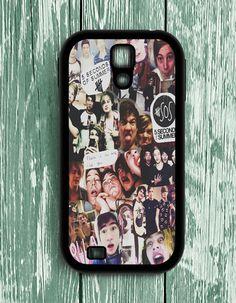 5 Second Of Summer Collage Art 5 SOS Music Samsung Galaxy S4   Samsung S4 Case