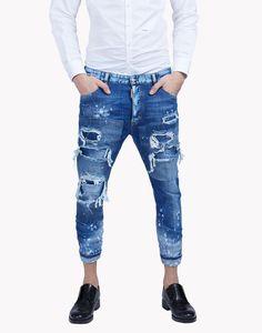 glam head jeans moda vaquera Hombre Dsquared2