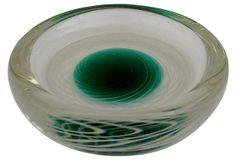 Norwegian Hadeland Trinket Dish on OneKingsLane.com Scandinavian Art, Norway, Glass Art, Dish, Tableware, Beautiful, Dinnerware, Tablewares, Dishes
