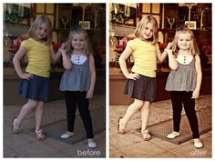 Vintage Photoshop Actions with a Twist of Contrast & Color