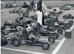 Duffy's Konig-powered Go Kart Vintage Go Karts, Karting, Mini Bike, Vintage Motorcycles, Race Day, Mac 10, Cart, F1, Image