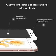 iPhone 6 6S Tempered Glass Screen Protector 0.2mm Premium High Definition Shockproof HD 3D Touch Compatible-Tempered Glass Fingerprint-proof with 9H Hardness Tempered Glass Film Protector