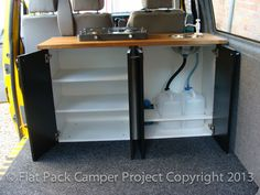 Camper Van Unit Conversion Guide for VW T4 T5 Transporter Vito, Transit, Vivaro