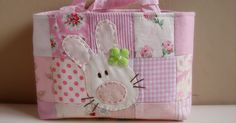Some new Easter baskets for my shop in pretty pinks!