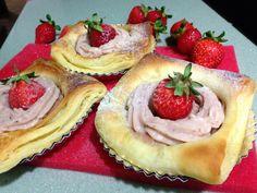 草莓卡士達丹麥酥皮[烘焙展食譜募集]