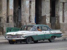 Chevrolet 1959 à La Havane (Cuba).