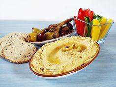 Hummus cu masline si capere Hummus, Waffles, Valentines, Breakfast, Ethnic Recipes, Food, Ideas, Valentine's Day Diy, Morning Coffee