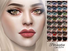 Realistic eyes in 90 colors, for female and male sims, from toddler-elder, under facepaint. Found in TSR Category 'Sims 4 Eye Colors' Source: Pralinesims' Sims Mods, Sims 4 Mods Clothes, Sims 4 Game Mods, Sims 4 Cc Eyes, Sims 4 Mm Cc, The Sims 4 Skin, Sims 4 Traits, The Sims 4 Cabelos, Pelo Sims