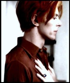 Bowie  Man who fell to Earth...he has the most beautiful hands