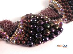 Peyote Stitch Pattern Seed Bead Patterns by TheBeadClubLounge