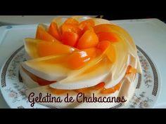 Gelatin Recipes, Jello Recipes, Mexican Food Recipes, Ethnic Recipes, Gelatin Bubbles, Jelly Desserts, Jello Cake, Mango Cake, Spanish Food