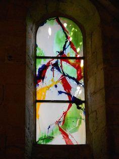 A l'abbaye de Fontfroide KIM EN JOONG