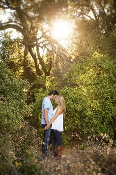Such beautiful light! #engagement #photography