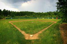 House Park - Wiffle® Ball Field of the Month Huntington Bank, Backyard Baseball, Wiffle Ball, Bud Light, Baseball Field, Park, Pictures, Sports, House