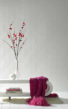 Curvy Wallpaper by Graham and Brown