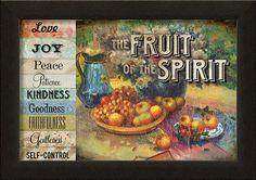 Fruit Of the Spirit Framed Art