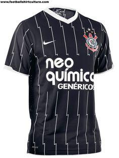 Corinthians 2011 Nike Football Shirts | 11/12 Kits | Football Shirt Culture.com