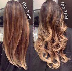 Guy Tang signature caramel balayage @guy_tang. this guy's hair color is amazing!!!