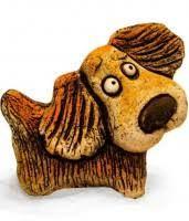 Картинки по запросу собака керамика панно