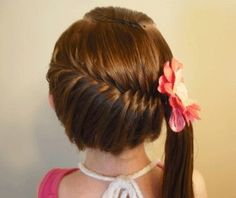 fishtail to ponytail