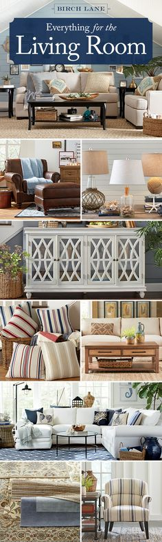 Whether you're moving in for the first time or just ready to give your space a refresh, everything you need for the living room is here – all in one place. Sofas. Sectionals. Tables. Lighting. Plus rugs (to layer) and pillows, throws, and art (for that final flourish). Shop by Room for the living room at Birchlane.com and enjoy Free Shipping on all orders over $49.