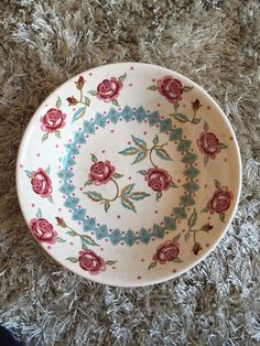 Emma Bridgewater Special Rose Bowl Collectors One Off     eBay