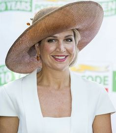 On September 14, 2016, Queen Maxima of The Netherlands ........SHE ALWAYS HAS THE HAPPIEST SMILE ON HER FACE..........ccp