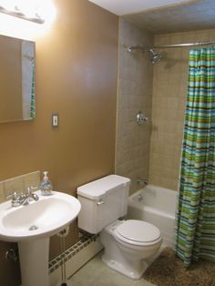 Real Estate for sale in Billerica, MA.  The bathroom at 32 Lindsay Rd was completely renovated in 2008.