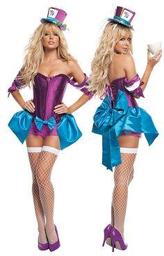 Per Adulti Crazy Girl Harlequin Harley Quinn Parrucca Costume Halloween Libro Settimana