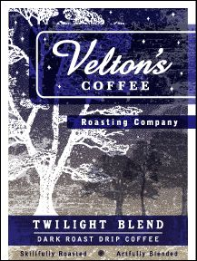 Velton's Twilight Blend - dark roast drip coffee blend | Seattle Coffee Gear