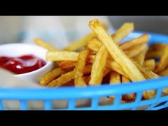 How to Make the Best Homemade French Fries #video #recipe