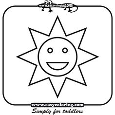 easy coloring pages for toddlers it only took days to find this - Simple Colouring Pages For Toddlers