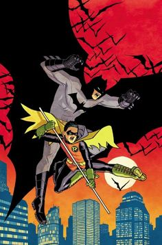 Batman and Robin by Cliff Chiang.