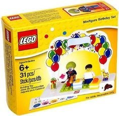 LEGO Set Minifigure Birthday Set 850791 ** Learn more by visiting the image link.