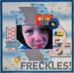 """""""Awsome Freckles"""" wk 16/52"""