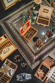 Cigar Bar | Boardwalk Empire styled shoot from Edward Lai Photography |  Boardwalk Empire Wedding Inspiration |