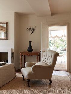 Rose Uniacke, Rustic Wooden Table, Interior Styling, Interior Design, Interior Ideas, London House, Georgian Homes, White Walls, Home Decor Inspiration