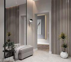 Какая ванная комната вам нравится больше 1 или 2? #dom_tvoej_mechty_ванная Авто Lobby Interior, Interior Exterior, Interior Architecture, Entryway Decor, Bedroom Decor, Open Plan Kitchen Living Room, Hallway Designs, House Entrance, Minimalist Interior