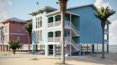 Rendezvous Bay - Coastal Home Plans Coastal House Plans, Beach House Plans, Family House Plans, Coastal Homes, Beach Homes, Duplex Design, House Design, Duplex House Plans, Tall Windows
