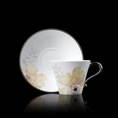 crystal teacup and saucer   Home » Prouna Jewelry » Corsage » Tea Cup And Saucer   Yellow