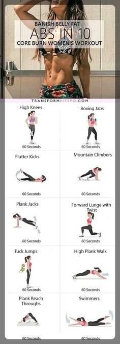 Workout plans, important home fitness advice to shape up. Jump to that simple workout plans exercise image number 8823651006 here. Burn Belly Fat Fast, Belly Fat Loss, Reduce Belly Fat, Abs Women, 10 Minute Workout, Workout For Beginners, Loose Weight, Reduce Weight, Strength Training
