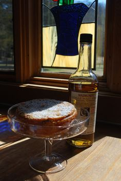oh, my!  A Whisky cake with Wasmund's best! Pick some up on the Blue Ridge Whiskey Wine Loop!