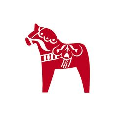 Adorn your home with this beautiful dala horse pattern! SKU: P0095 Dimensions: Each horse measures 5 inches tall and 4.6 inches wide.  Are your walls ready and able for Dana Decals? Some surface types or paint might cause installation issues. Please check out our Policies/FAQ for more info on wall treatment!  ** Each horse is an individual vinyl decal that you individually place to create a pattern on your surface. • Dana Decals only offers Die-Cut Decals, and not Printed Decals, at this...