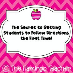 Are you frustrated because your students do not follow directions? I have an easy fix for you! Click to read more!