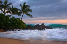 The beauty of Hawaii's beaches. Maui.